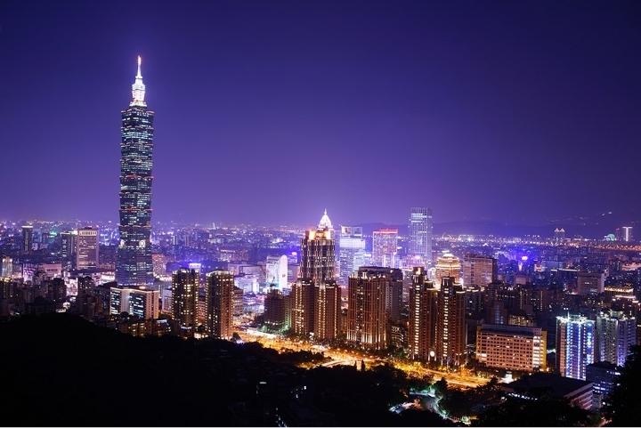 Taipei Taiwan Skyline